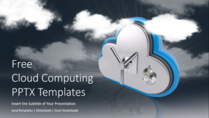 Cloud Computing Technology PowerPoint Templates feature image