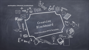 Creative-blackboard-background-PPT-templates feature image