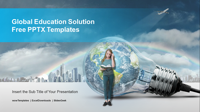 Global-Education-Solution-PowerPoint-Templates feature image