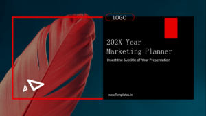 Marketing Planner - Presentation template - Feature Image