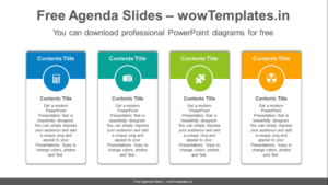 Vertical-carded-banner-PowerPoint-Diagram-Template-Feature Image