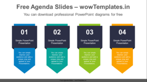 Vertical-flag-banner-PowerPoint-Diagram-feature image